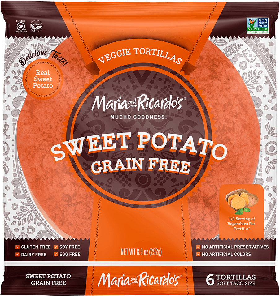 8″ Sweet Potato