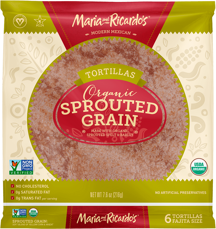 6″ Organic Sprouted Grain
