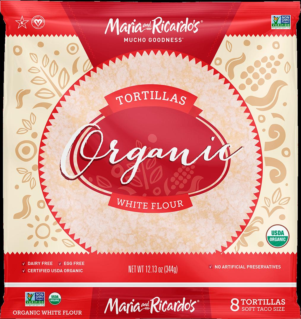 8″ Organic White Flour