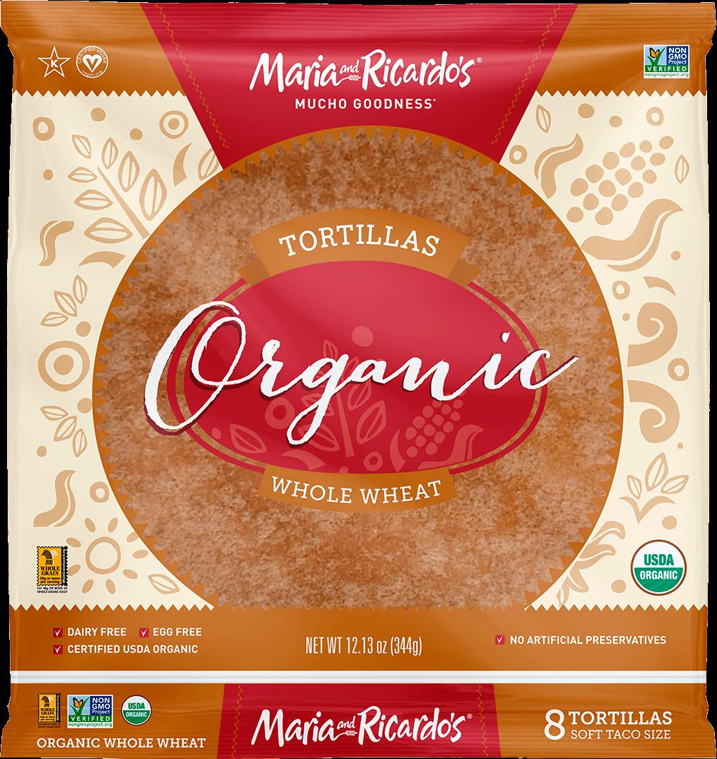 8″ Organic Whole Wheat