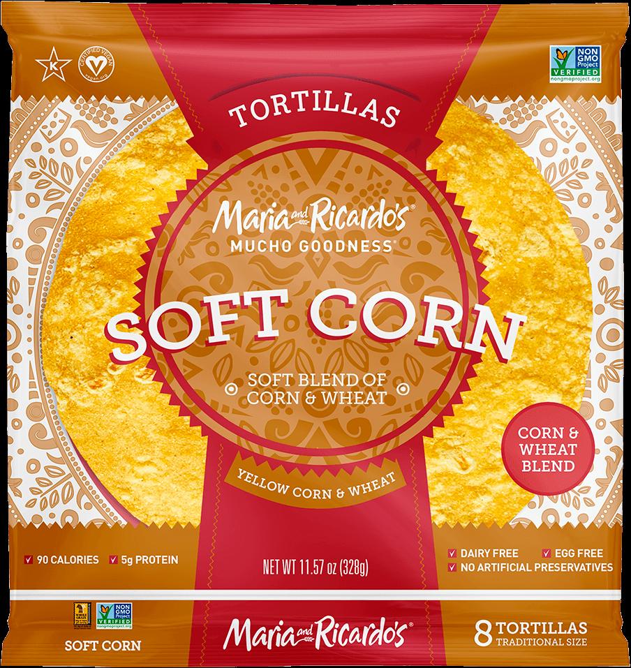 6″ Soft Yellow Corn